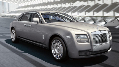 удлиненный Rolls-Royce Ghost