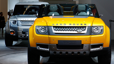 прототипы Land Rover Defender DC 100