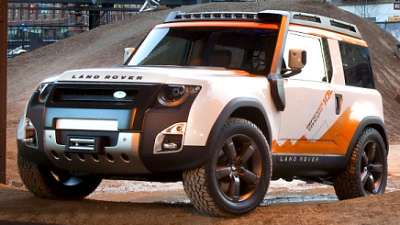 прототип Land Rover DC100 Expedition