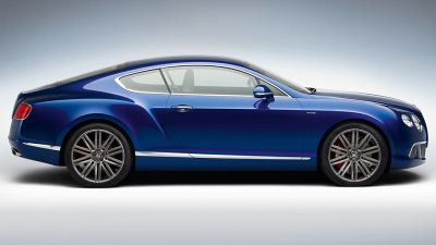 новый Bentley Continental GT Speed