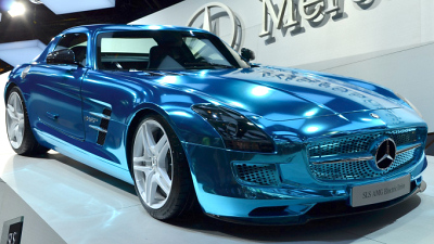 Mercedes-Benz SLS Coupe Electric Drive