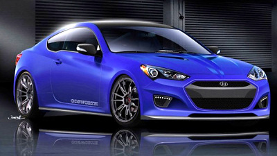 Hyundai Cosworth Genesis Racing Series Concept