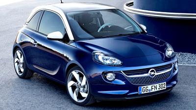 Компакт-кар Opel Adam будет доступен в версии без крыши