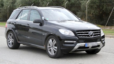 «мул» Mercedes-Benz MLC