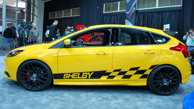Ford Focus ST с доработками Shelby