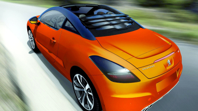 Peugeot RCZ View Top