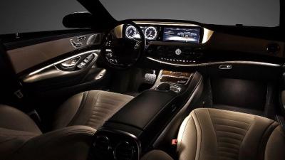 Mercedes-Benz рассекретила салон нового седана S-Class - новости ...