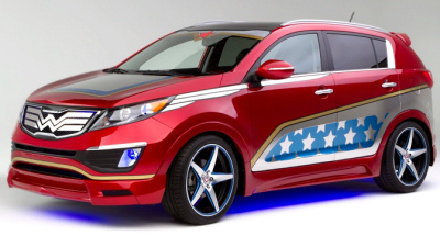 Kia Wonder Woman Sportage