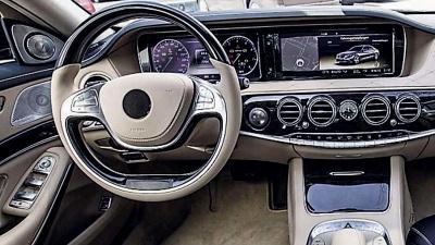 Появились новые фотографии салона Mercedes-Benz S-Class - новости ...