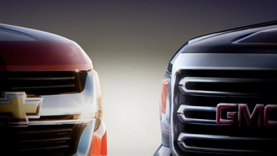 тизер Chevrolet Colorado и GMC Canyon