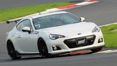 Subaru BRZ tS GT-package
