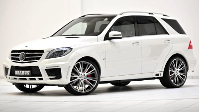 Brabus B63S на базе Mercedes-Benz ML63 AMG