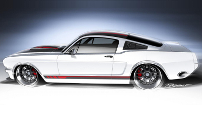 тизер Ford Mustang от Ringbrothers