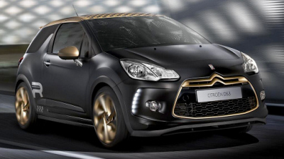 Citroen DS3 Racing Gold Mat