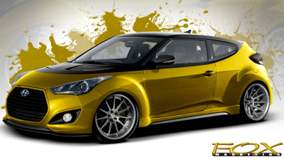 Hyundai Veloster Turbo Fox Marketing