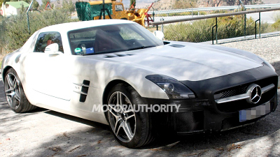 тестовый прототип Mercedes-Benz SLS AMG Final Edition