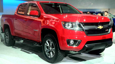 новый Chevrolet Colorado