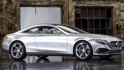 Серийное купе Mercedes-Benz S-Class покажут в Женеве - новости ...