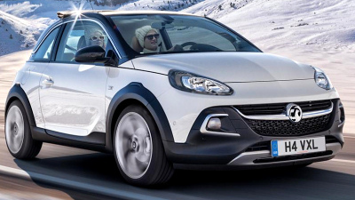 серийная версия Opel Adam Rocks