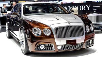 Bentley Flying Spur от Mansory