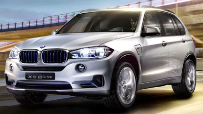 новая версия BMW X5 eDrive