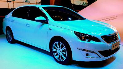 автосалон в пекине 2014: peugeot 408