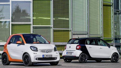 Smart ForTwo и ForFour