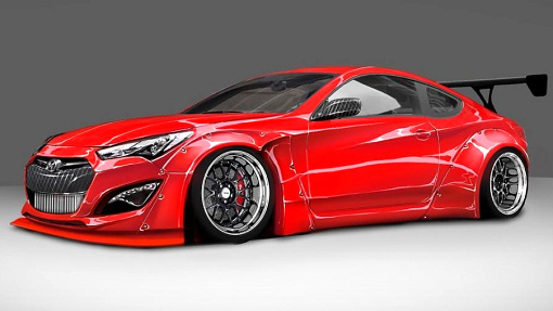 Hyundai Genesis Coupe by BTR