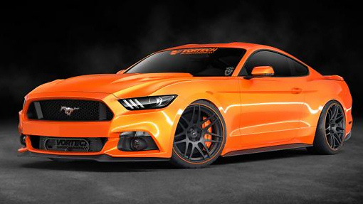 Ford Mustang от Vortech Superchargers