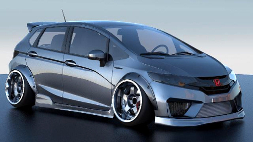 Honda Fit by Kenny Vinces