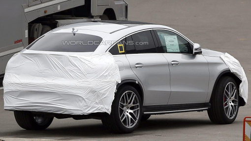 Прототип Mercedes-Benz GLE Coupe