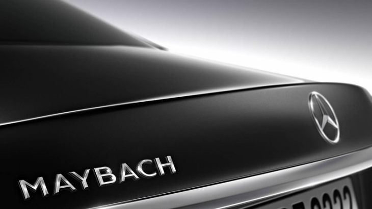 Тизер Mercedes-Maybach S600