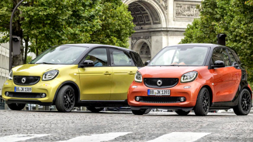 Базовые Smart ForTwo и ForFour