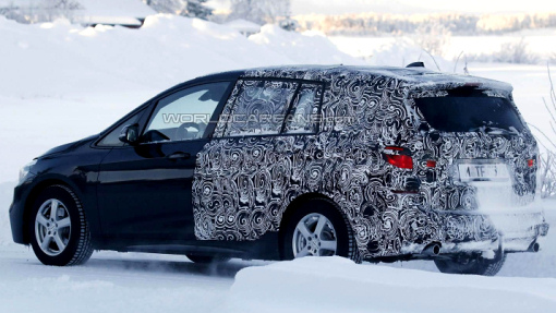 Тестовый прототип семиместного BMW 2-Series Active Tourer
