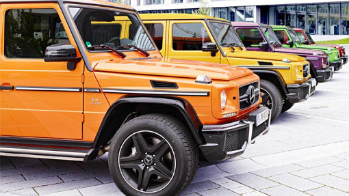 Mercedes-Benz G63 AMG Crazy Colour