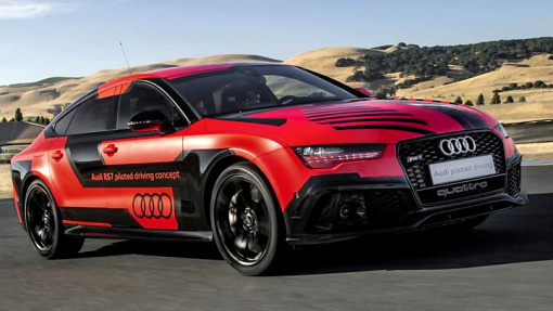 Audi RS7 piloted driving concept «Robby»