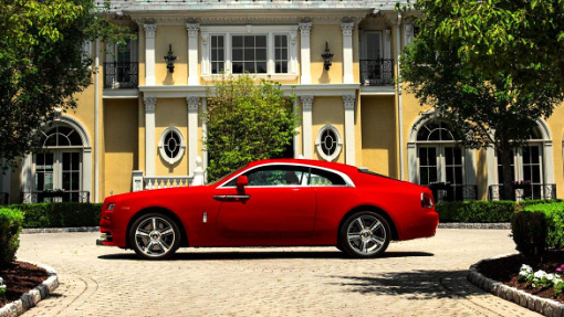 Rolls-Royce Wraith St. James Red