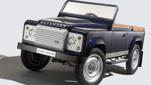 Педальный Land Rover Defender