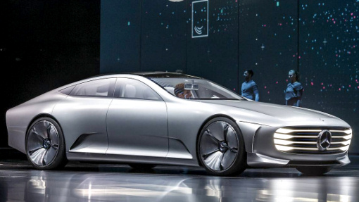 Mercedes benz iaa concept for Upcoming mercedes benz models