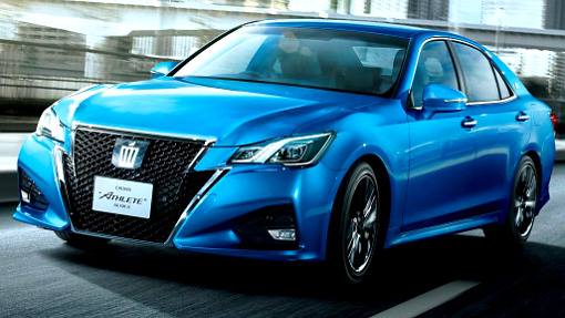 Toyota Crown Athlete 2016
