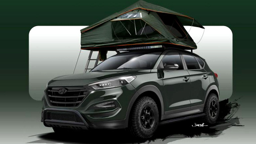 Hyundai Tucson Adventuremobile