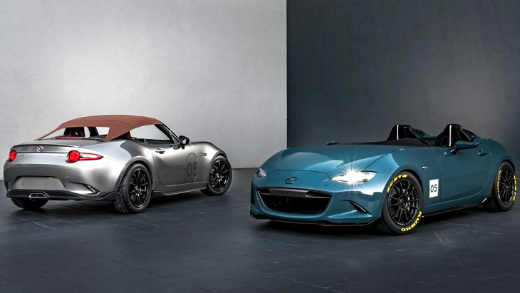 Mazda MX-5 Spyder и MX-5 Speedster