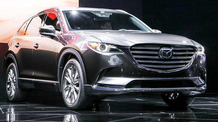 Mazda CX 9 2018 года из Лос-Анджелеса для автолюбителей России