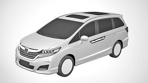 Эскиз нового минивэна Honda