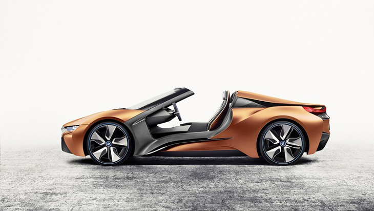 Концепт BMW i Vision Future Interaction