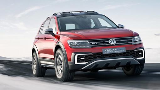 Концепт Volkswagen Tiguan GTE Active