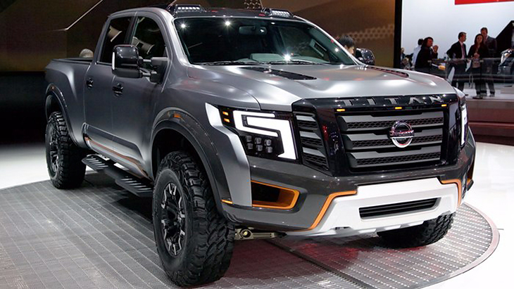 Концепт Nissan Titan Warrior