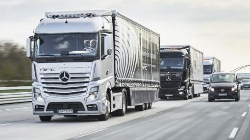 Грузовики Mercedes-Benz Actro