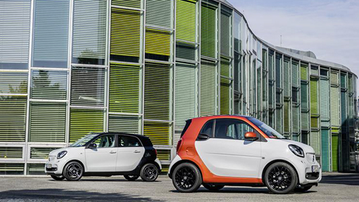 Smart ForFour и Smart ForTwo
