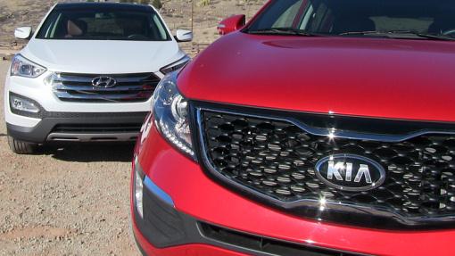 Hyundai Tucson и Kia Sportage